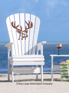 High Top Patio Chair - Deer Head