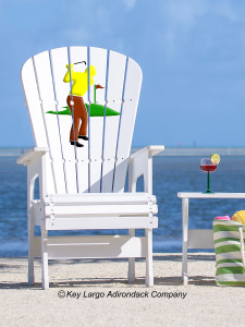 High Top Patio Chair - Golfer