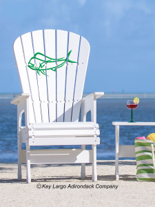 High Top Patio Chair - Mahi Outline - JM Design