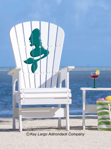 High Top Patio Chair - Mermaid