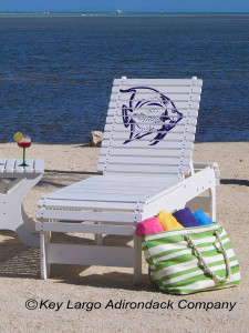 Outdoor Patio Chaise Lounge - Angelfish