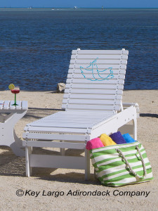Outdoor Patio Chaise Lounge - Dove