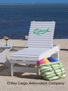 Outdoor Patio Chaise Lounge - Mahi Outline - JM Design