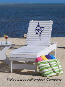 Outdoor Patio Chaise Lounge - Marlin