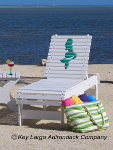 Outdoor Patio Chaise Lounge - Mermaid