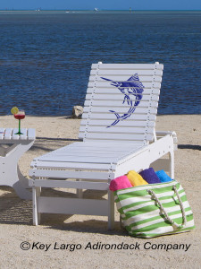 Outdoor Patio Chaise Lounge - Sailfish