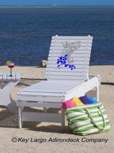 Outdoor Patio Chaise Lounge - Tarpon Splash