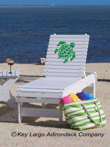 Outdoor Patio Chaise Lounge - Turtle GG Design