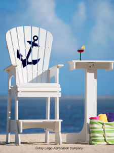 Outdoor Patio Lifeguard Chair - Anchor