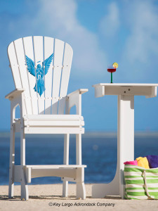 Outdoor Patio Lifeguard Chair - Angel