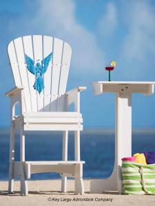 Outdoor Patio Lifeguard Chair - Angel