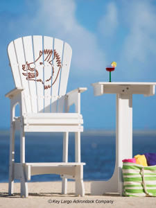 Outdoor Patio Lifeguard Chair - Boar's Head