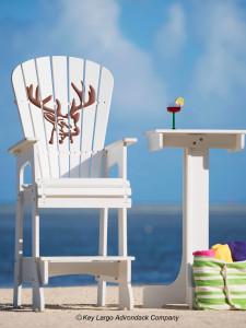 Outdoor Patio Lifeguard Chair - Deer Head