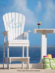 Outdoor Patio Lifeguard Chair - Dove