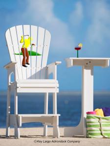 Outdoor Patio Lifeguard Chair - Golfer