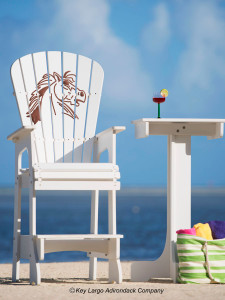 Outdoor Patio Lifeguard Chair - Mad Horse
