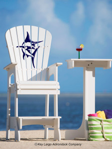 Outdoor Patio Lifeguard Chair - Marlin
