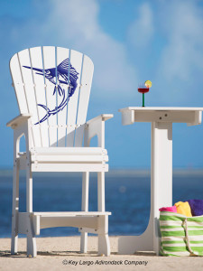 Outdoor Patio Lifeguard Chair - Sailfish