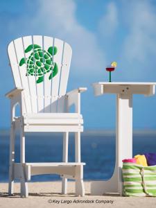 Outdoor Patio Lifeguard Chair - Turtle - GG Design