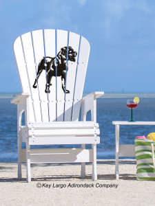 Rottweiler High Top Patio Chair