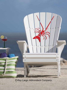 Lobster Adirondack Chair