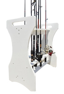 Classic White Large Rod Holder