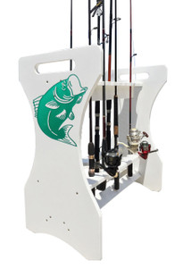 Large Rod Holder - Bass Design