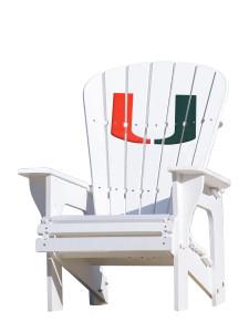 University of Miami - Adirondack Chair