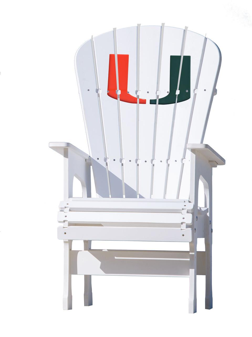 High Top Patio Chair University Of Miami Hurricanes