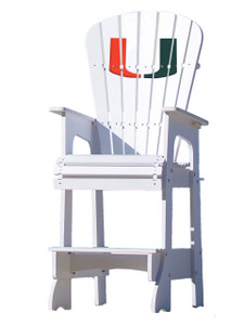 "University of Miami - ""U"" Lifeguard Chair"
