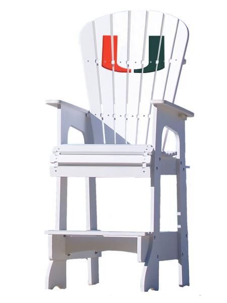 Outdoor Patio Lifeguard Chair University Of Miami