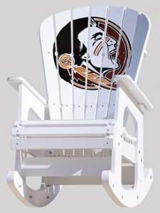 Florida State Seminoles Rocking Chair