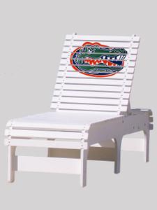 Outdoor Patio Chaise Lounge - University of Florida Gators