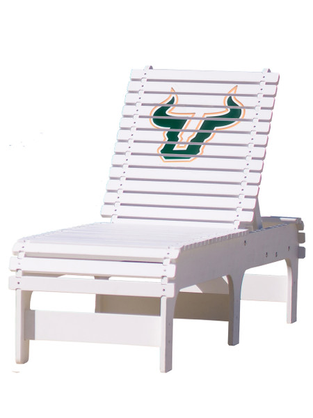 University of South Florida - Bulls Chaise Lounge