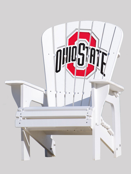 The Ohio State University Buckeyes Adirondack Patio Chair