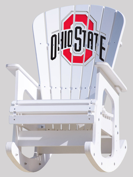 Ohio State Buckeye Rocking Chair