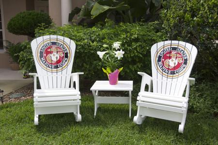 Marine Corps Rocking chairs - Rock Harbor Set