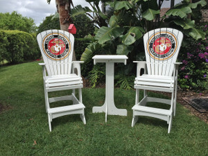 Marine Corps Lifeguard chairs - Key West Set