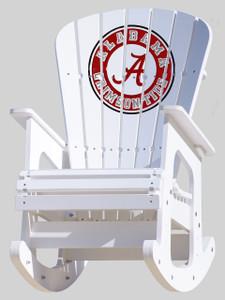 University of Alabama Crimson Tide Rocking Chair.