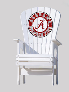Alabama Crimson Tide High Top Chair