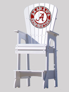 University of Alabama - Roll Tide - Lifeguard Chair