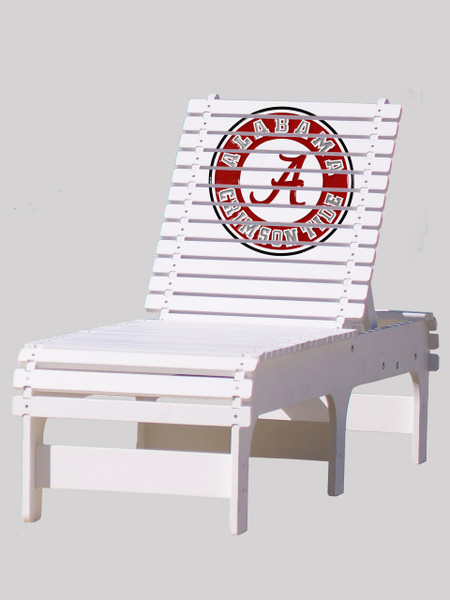 University of Alabama Crimson Tide Chaise Lounge