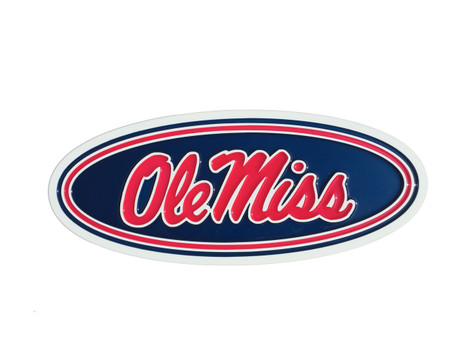 Ole Miss Rebels epoxy resin Wall Plaque