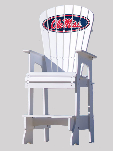 Ole Miss Rebels Lifeguard Chair