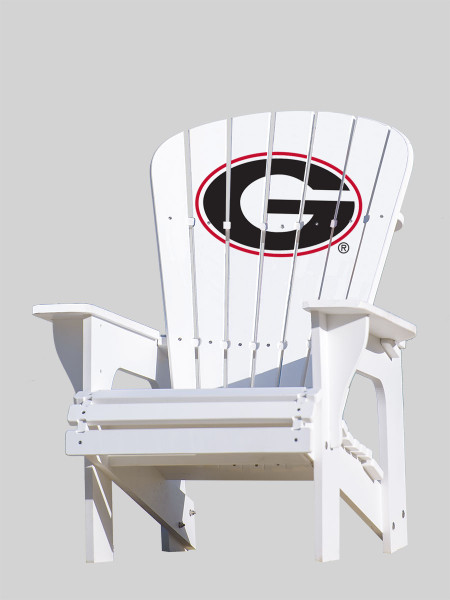 "University of Georgia Bulldogs ""G"" Adirondack Chair"