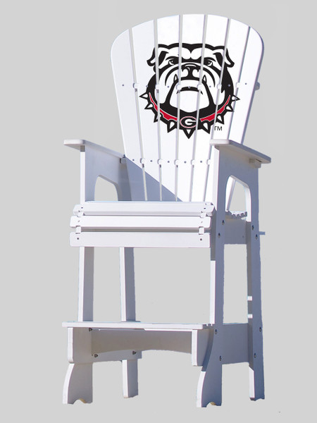 University of Georgia Bulldogs Lifeguard Chair