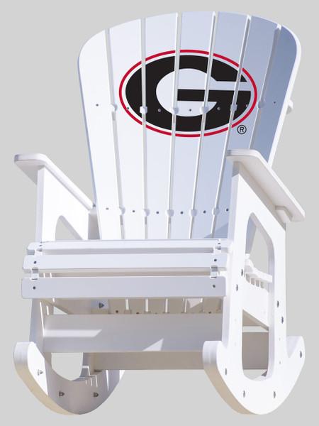 Georgia Bulldogs Rocking Chair
