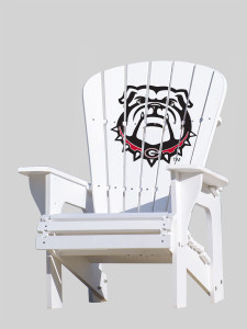 University of Georgia Bulldogs Adirondack Chair - Bulldog