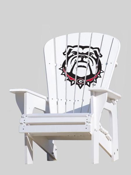 University of Georgia Bulldogs Adirondack Chair - Bulldog