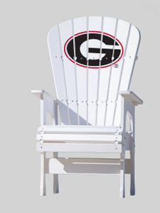 "University of Georgia Bulldogs High Top  Chair - ""G"""